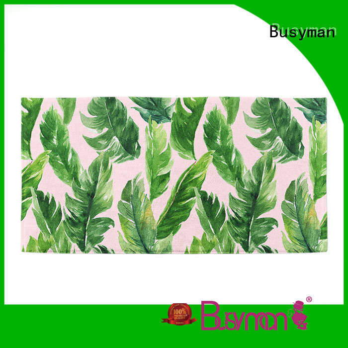 Busyman cotton beach towel suitable for swimming