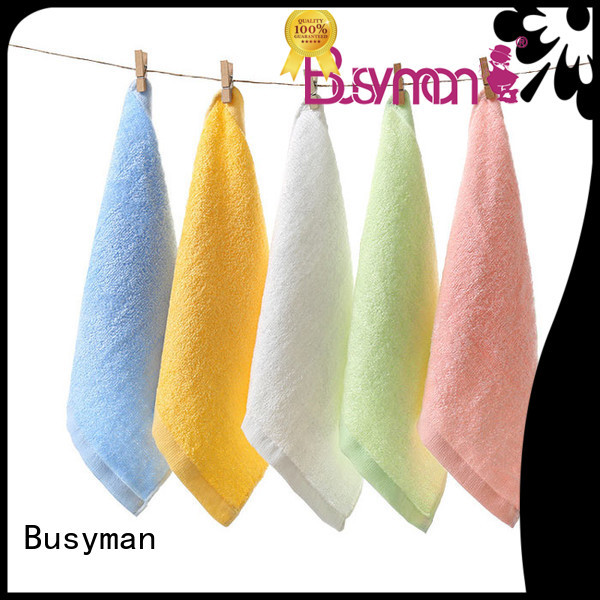 Busyman towel manufacturer nice user experience for household use
