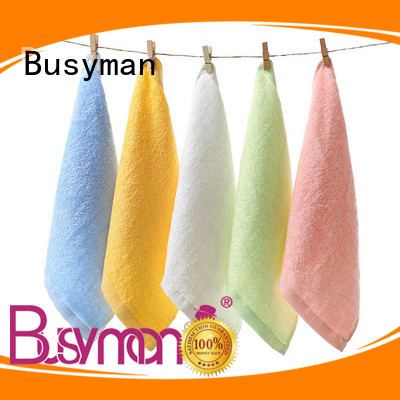 Busyman comfortable personalized hand towels best choice for adults