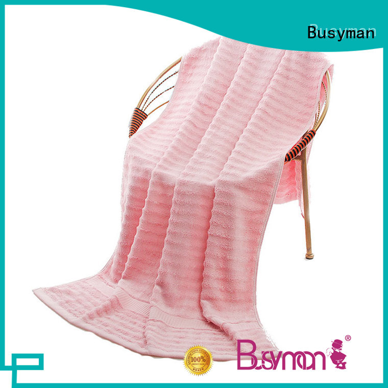 Busyman safe bamboo beach towel very useful for babies