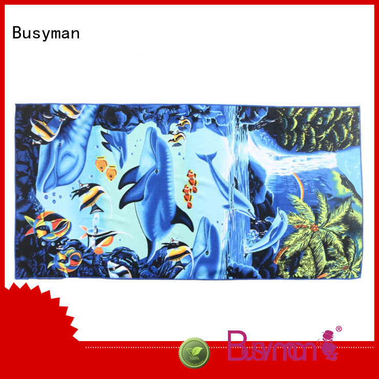 Busyman best microfiber bath towels best for swimming