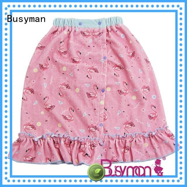 Busyman comfortable bath dress very useful for bathroom