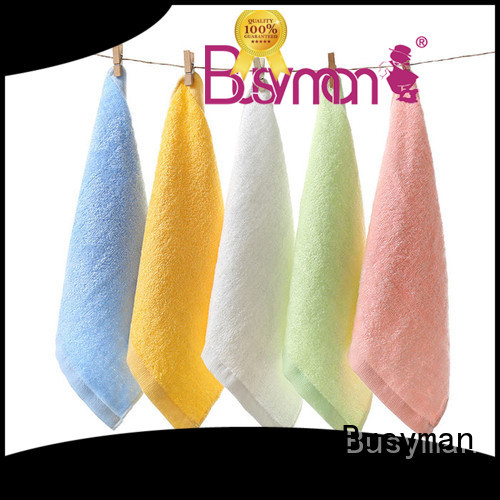 Busyman soft bamboo hand towel great for Baby washing face or hands