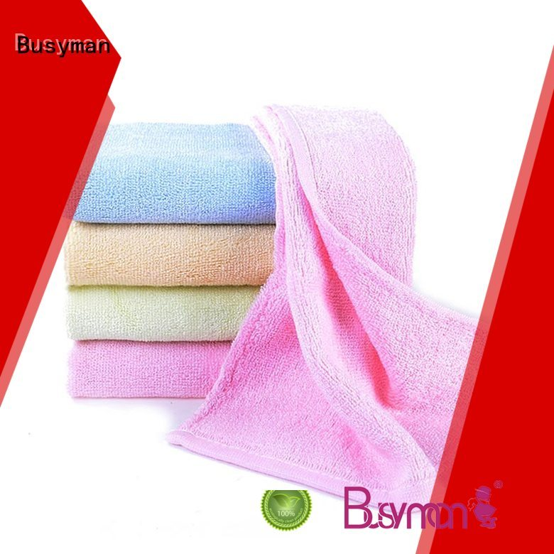 comfortable hand feeling plain hand towel widely applied for kitchen