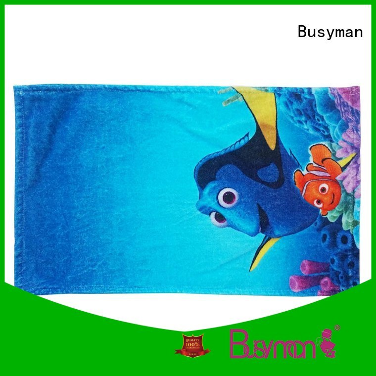 Busyman distinctive custom hand towel ideal for home use