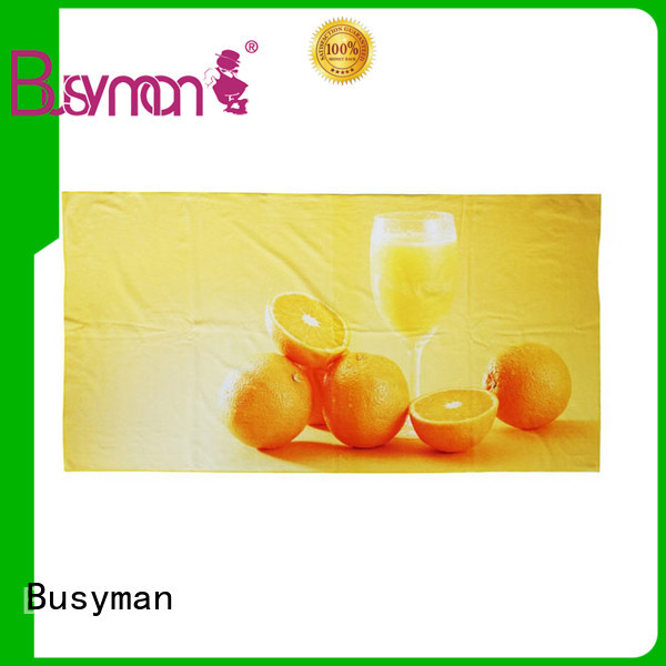 Busyman round beach towels needed for home