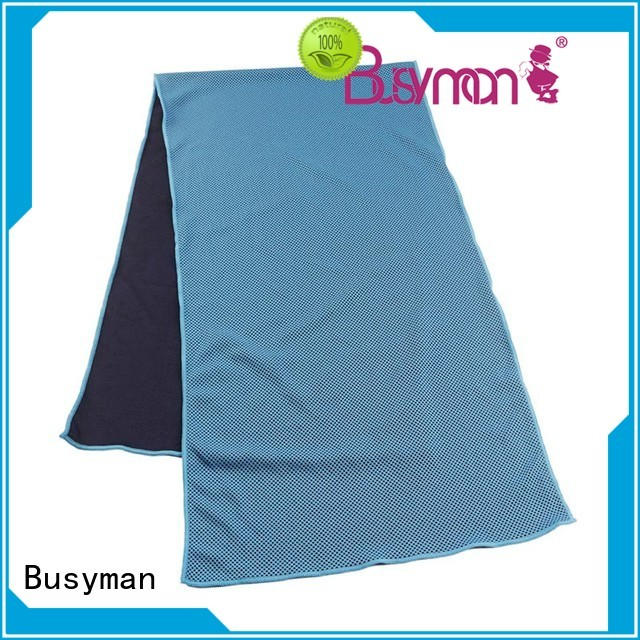 Busyman professional best cooling towel widely applied for exercise
