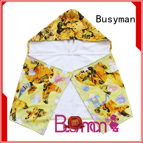 Busyman custom hooded towel widely employed for kitchen
