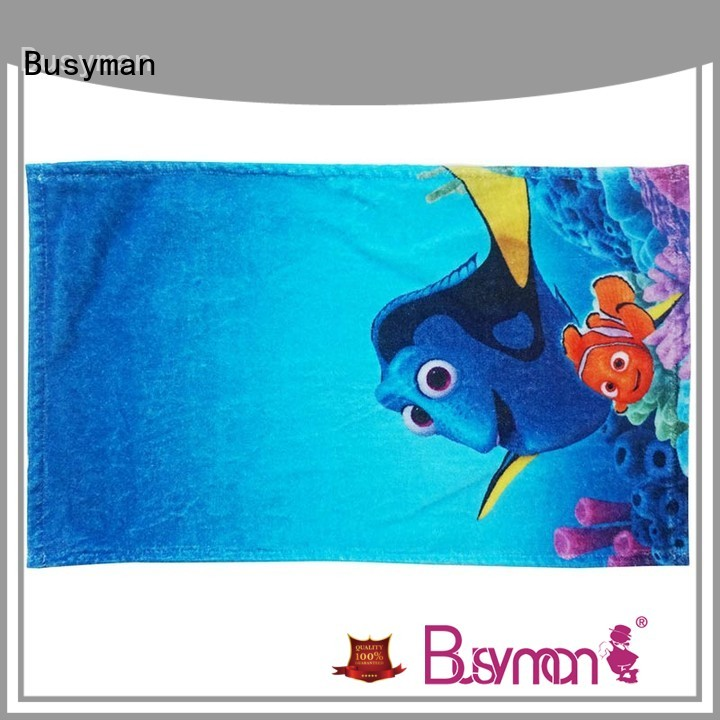 Busyman hand towels 100% cotton home use