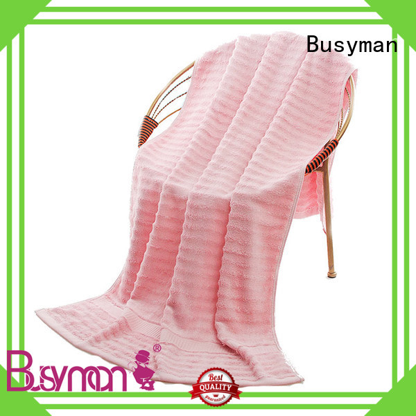 Busyman eco-friendly quality beach towels widely employed for babies