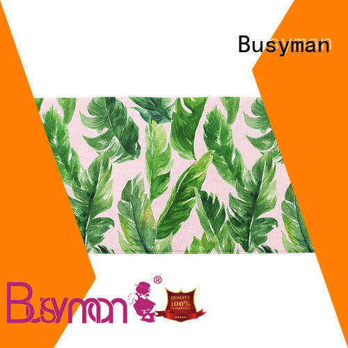 Busyman microfiber swim towel nice user experience for swimming