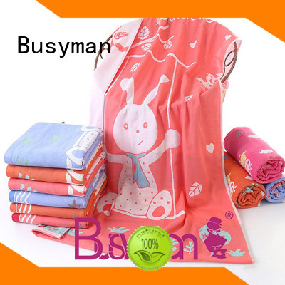 Busyman bath towel 100% cotton great for swimming