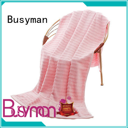 Busyman custom beach towels widely employed for