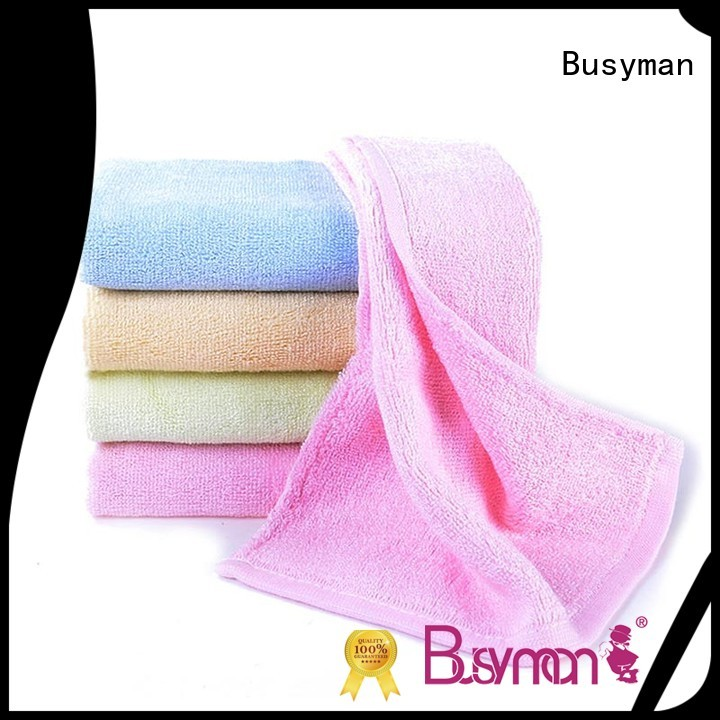 Busyman bright color wholesale hand towel home