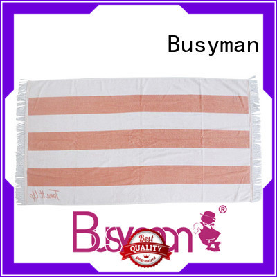 Busyman custom printed beach towels widely employed for home