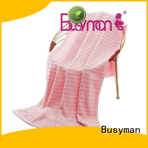 Busyman skin-friendly swimming towel optimal for gift