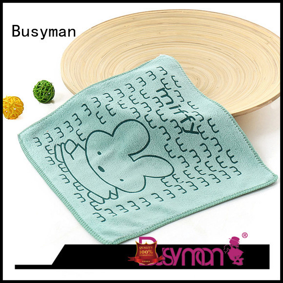 Busyman cute hand towel manufacturer very useful for sports