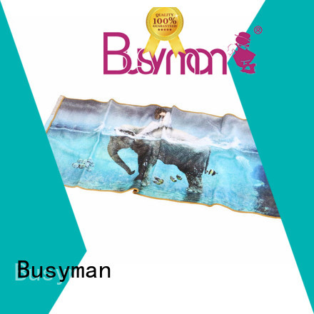 Busyman quick dry custom hand towel great for kitchen