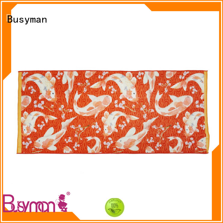 Busyman cotton towel perfect for sports