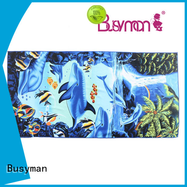 Busyman Eco-friendly best microfiber towels needed for hotel