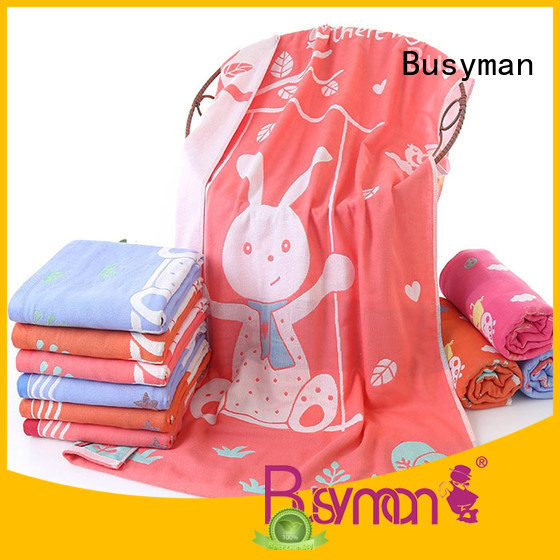 Busyman jacquard bath towel ideal for swimming