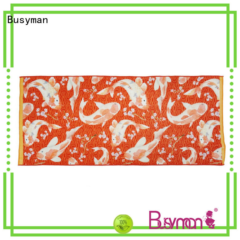 Busyman cotton bath towels satisfying for gift