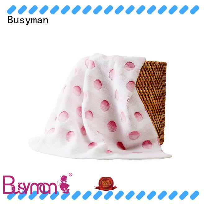Busyman multi color jacquard jacquard towels design ideal for home