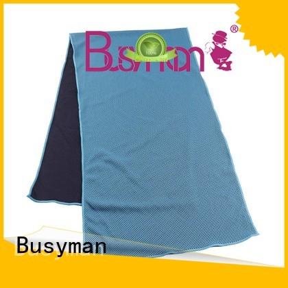 Busyman cold towel optimal for yoga