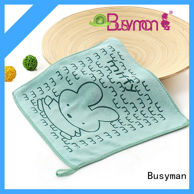 Busyman cute hand towel manufacturer widely employed for home
