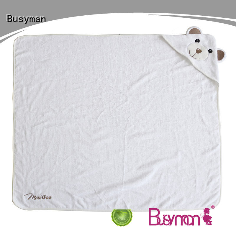 Busyman bamboo hooded towel great for hotel