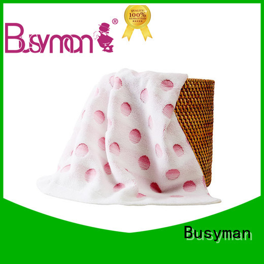 Busyman jacquard towels great for swimming