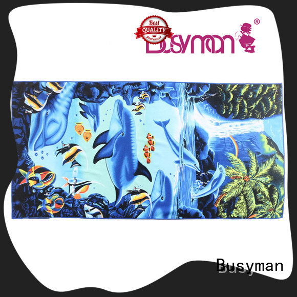 Busyman microfiber bath towel needed for outing