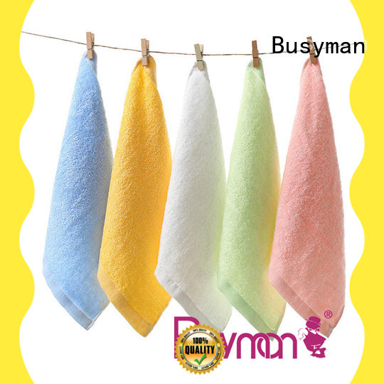 Busyman personalized hand towels great for kids