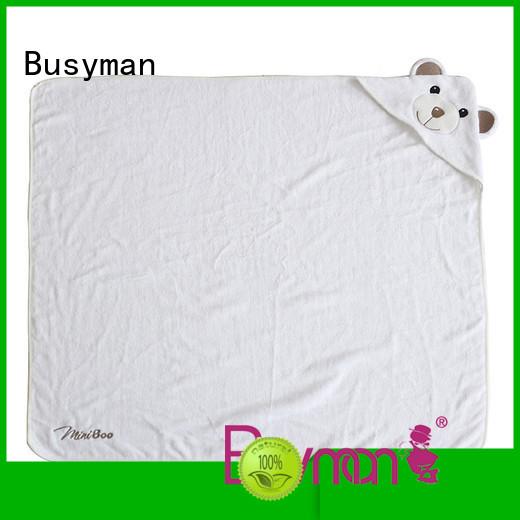 Busyman hooded bath towel hotel