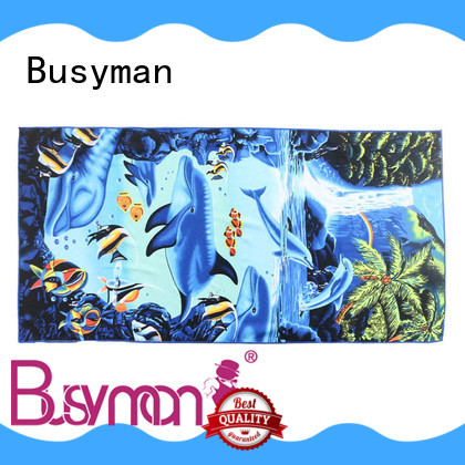 Busyman customized best microfiber towels very useful for hotel