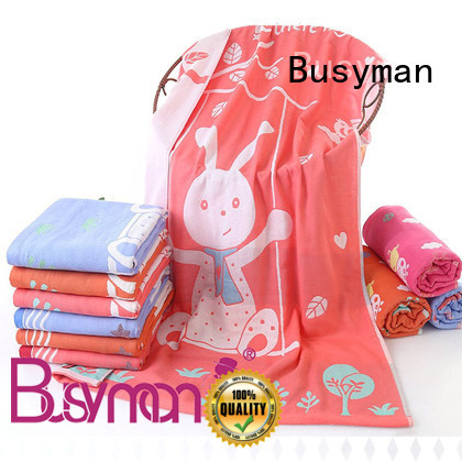 Busyman soft hand feeling bath towel 100% cotton great for swimming