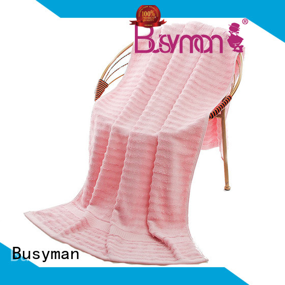 Busyman safe quality beach towels widely employed for babies