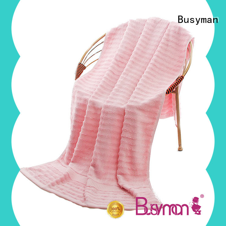 Busyman custom beach towels widely employed for sports