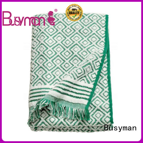 large jacquard beach towel widely used for home