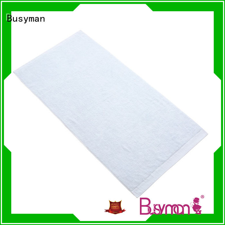 Busyman bamboo bath towel set satisfying for