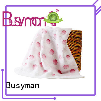 Busyman comfortable jacquard towels design great for home