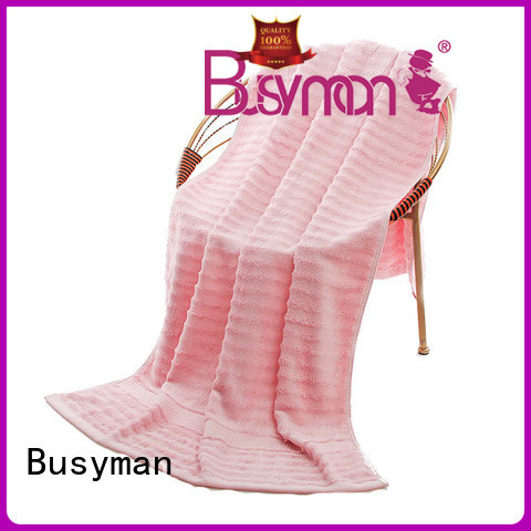Busyman eco-friendly custom beach towels outdoor activities