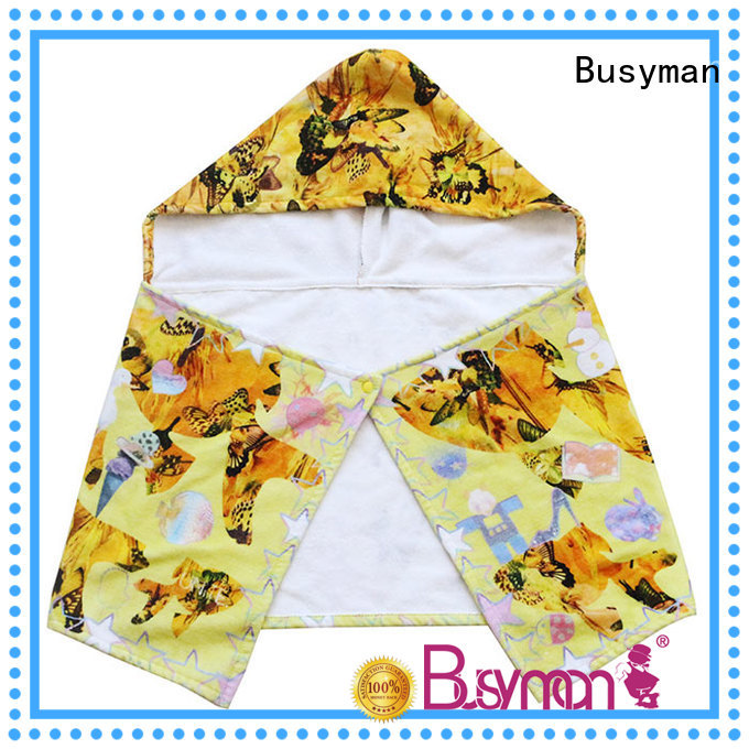 cute cotton hooded towel excellent for home