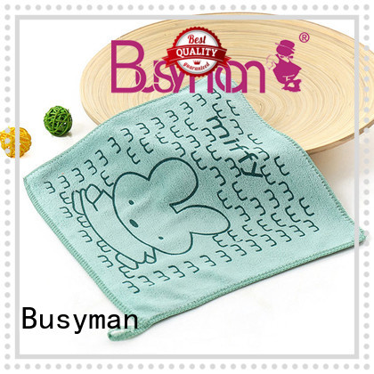 Busyman microfiber hand towel widely employed for