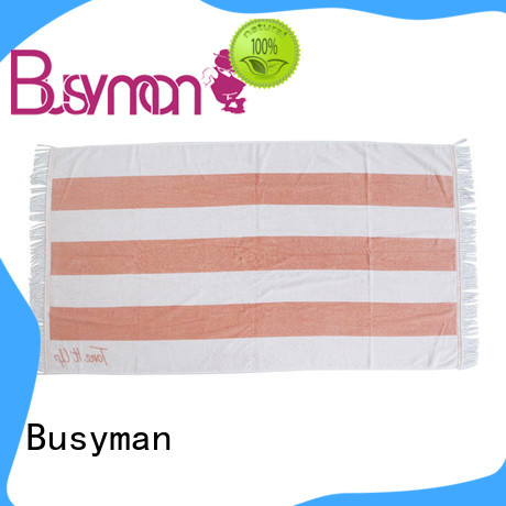 Busyman custom print beach towel very useful for trip