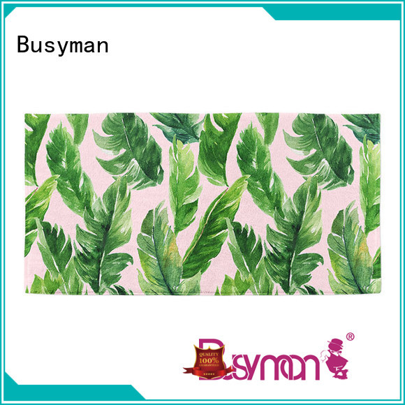 Busyman sand free cotton beach towel popular for traveling