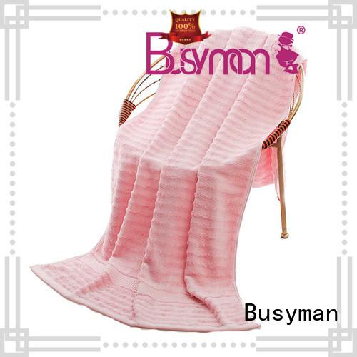 Busyman custom beach towels gift