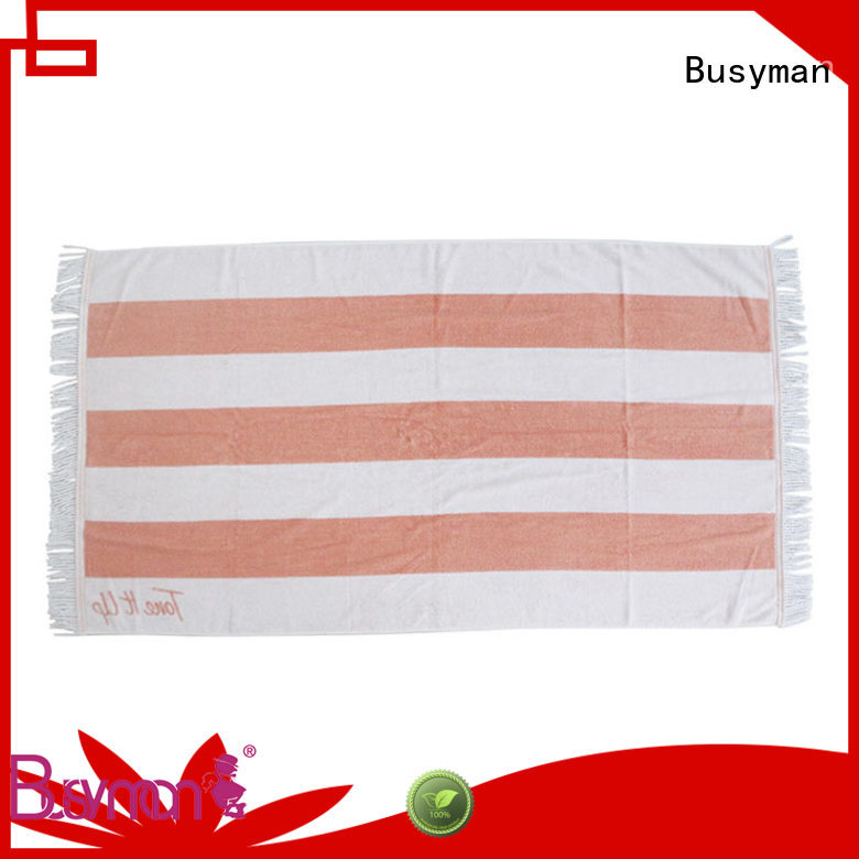 Busyman customized beach towels picnic