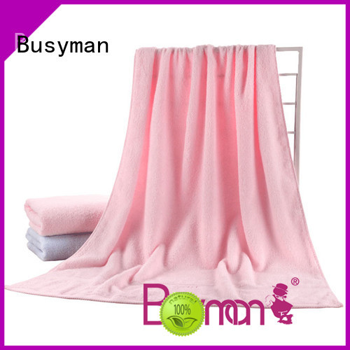 Busyman absorb water quickly plain towel widely used for home