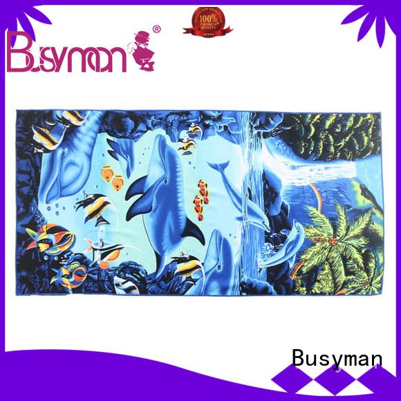 Busyman soft microfiber towel very useful for